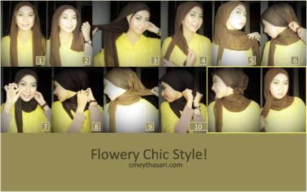 flowery chic